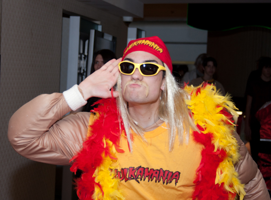 Hulk Hogan Cosplayer